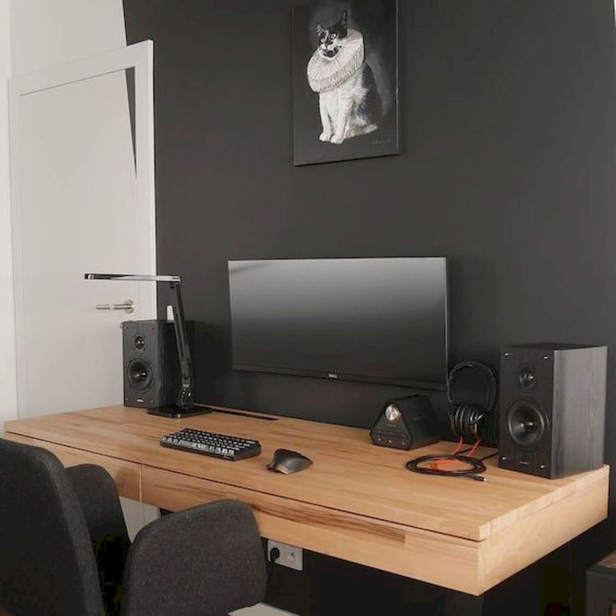 60 Magical DIY Computer Desk Gaming Design Ideas and Decor (36)