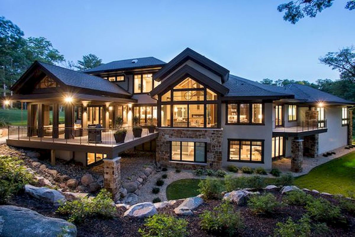 62 Wonderful Modern Dream House Exterior Design Ideas (3)