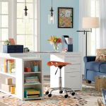 80 Wonderful DIY Art Desk Work Stations Ideas and Decorations (40)