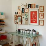 80 Wonderful DIY Art Desk Work Stations Ideas and Decorations (65)