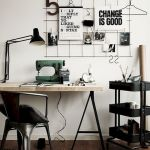 80 Wonderful DIY Art Desk Work Stations Ideas and Decorations (67)