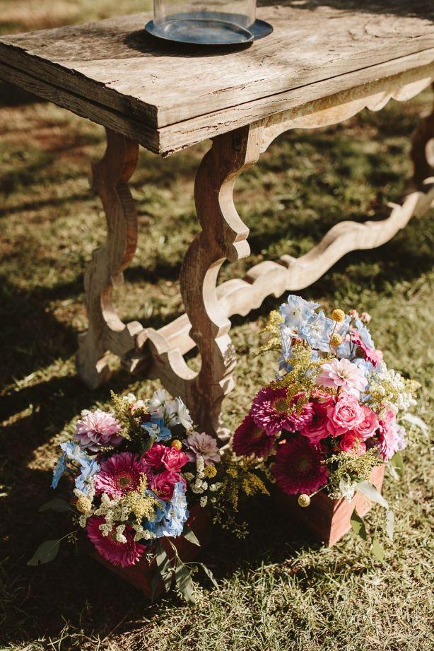 centros de flores para ceremonia