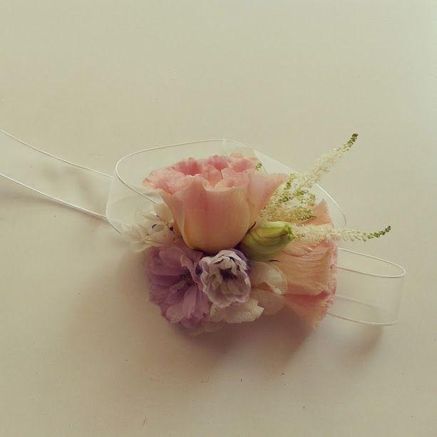 pulsera flores