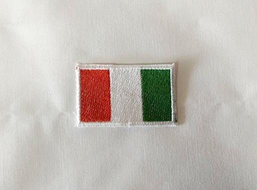 σημαία της Ιταλίας κέντημα