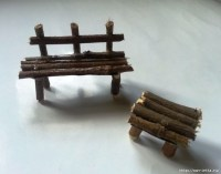How to make a miniature garden terrace