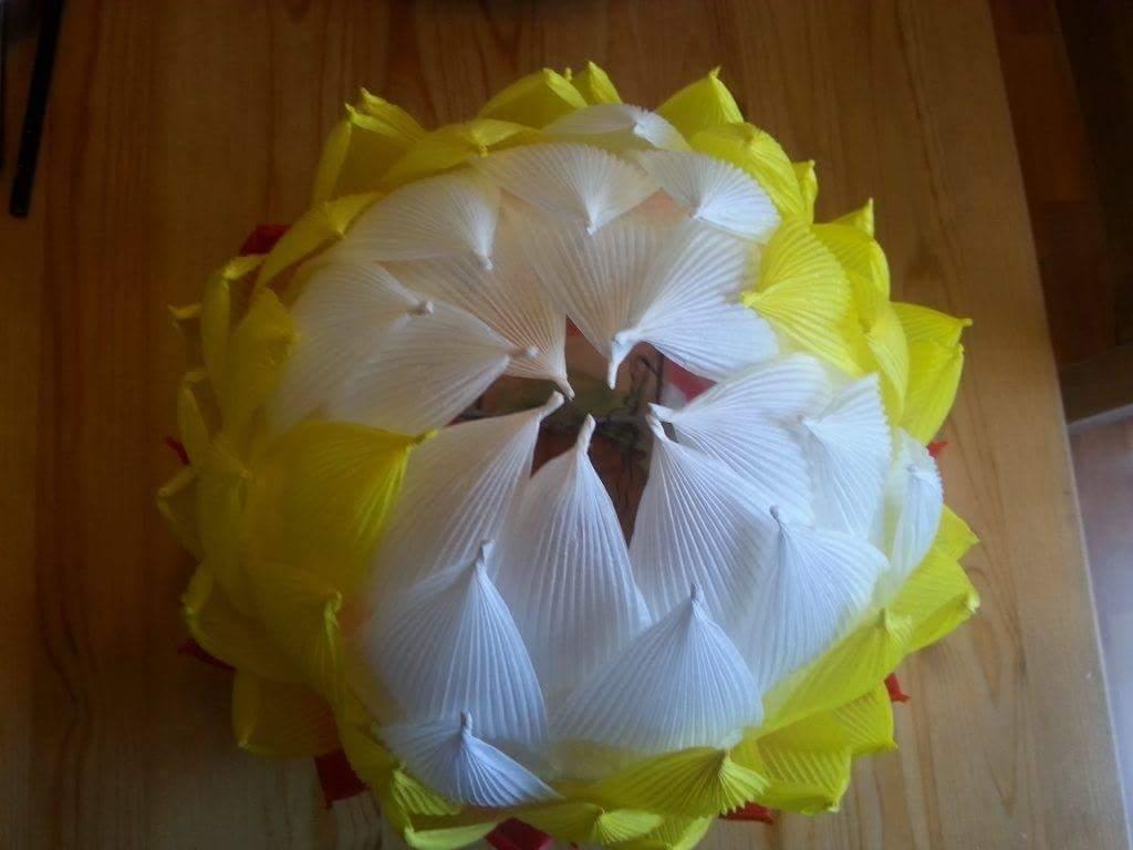 DIY Lotus and Paper lanterns  Art  Craft Ideas