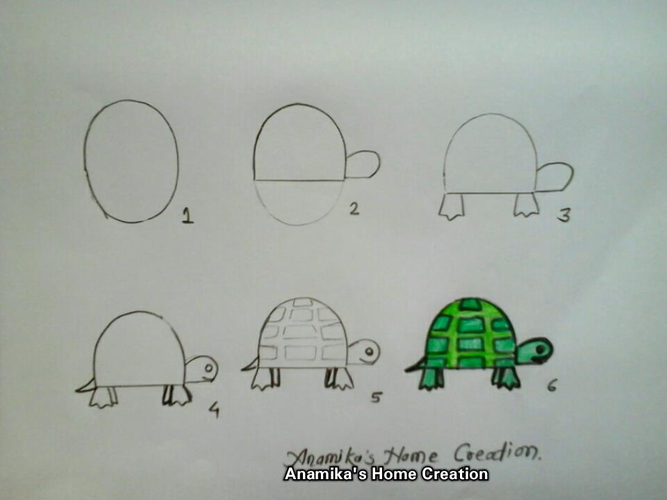 How to draw cartoon characters step by step  Art  Craft