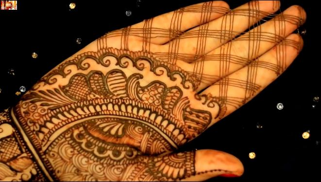 Easy Mehndi Designs For Full Hands