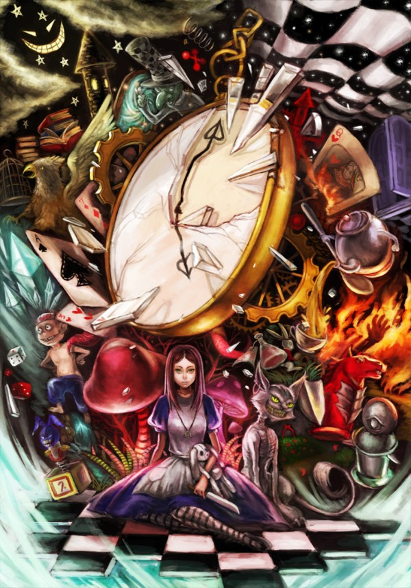 Alice and Wonderland Art