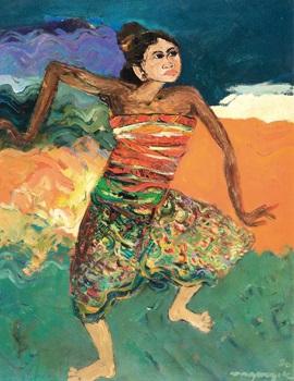 Bagong Kusudiarjo : bagong, kusudiarjo, Dancer, Bagong, Kussudiardja, Artnet