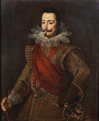 Chevalier De La Toison D'or : chevalier, toison, Portrait, Chevalier, Toison, Bartolomé, Gonzalez, Artnet