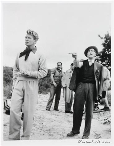 Jean Marais Et Jean Cocteau : marais, cocteau, Marais, Cocteau, Tournage, Testament, DOrphée, Robert, Doisneau, Artnet
