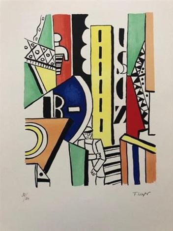 L Art Dans La Ville : ville, Lhomme, Ville, Fernand, Léger, Artnet