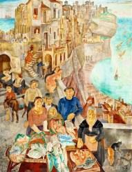 Italian Fantasy Town by Vladimir Szabó on artnet