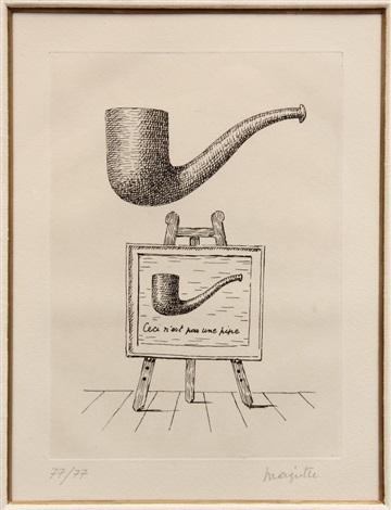 Ceci N'est Pas Une Pipe Magritte : n'est, magritte, René, Magritte, Artnet