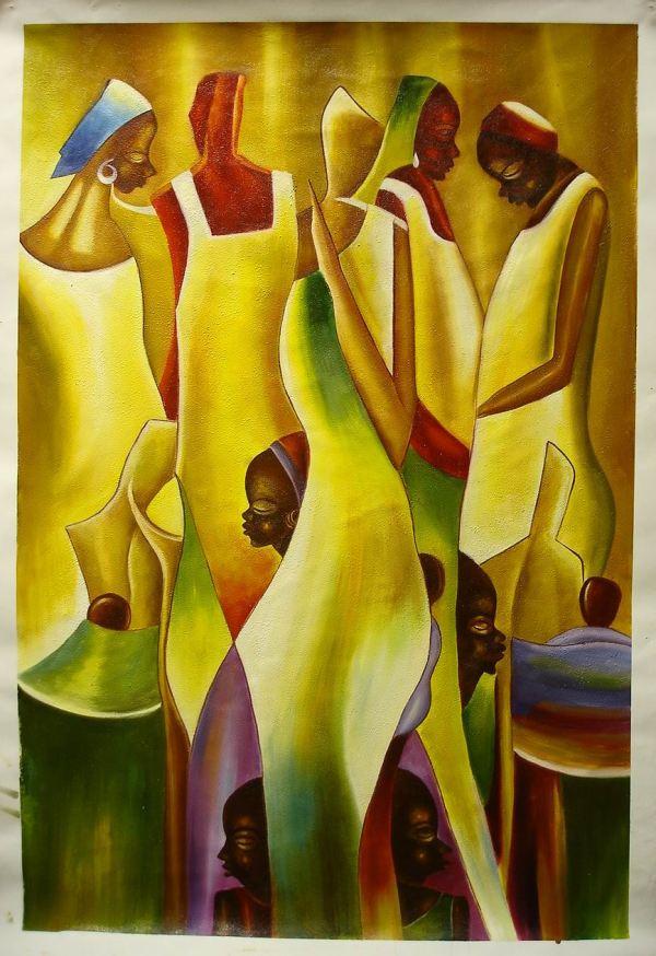 African Art Oil Paintings