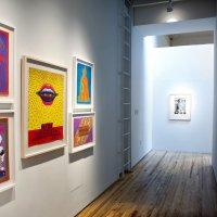 Выставка «эйсид-рок» постеров и других работ Виктора Москосо в художественной Галерее Эндрю Эдлина