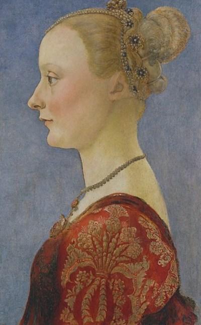 Piero del Pollaiuolo Portrait of lady