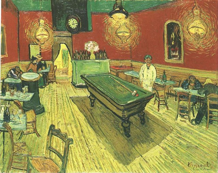 Винсент Ван Гог. Ночное кафе. 1888 г.
