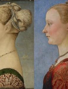 Портреты молодой дамы