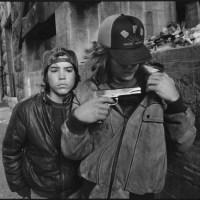 """""""Крыса"""" и Майк с пистолетом. Сиэтл, Вашингтон. 1983 г."""