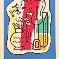 Афиша для выставки Фернана Леже в Париже, 1953 год.
