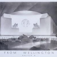 Проект для Международного музыкального зала и оперного театра авторства американских архитекторов. Гайд-парк, 1928 год. Сейчас на этом месте находится гостиница «Лэйнсборо».