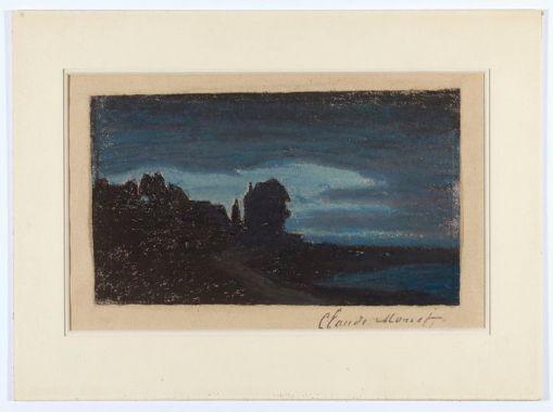 Клод Моне, Yport la nuit. Оценена в $150 000-200 000