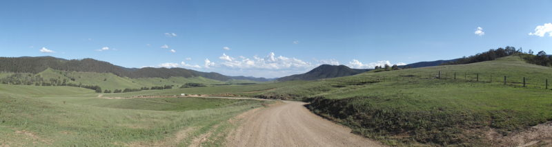 Another view of the Nowendoc River Valley