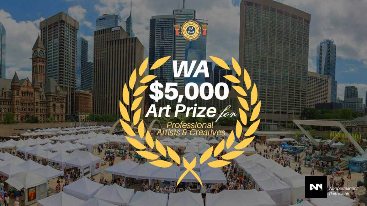 WA $5000 Fund for creatives to join Artnoise Open Program to Canada and exhibit in Art Toronto Fair, Canada