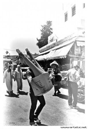 Legs transportation in the market of Meknes!