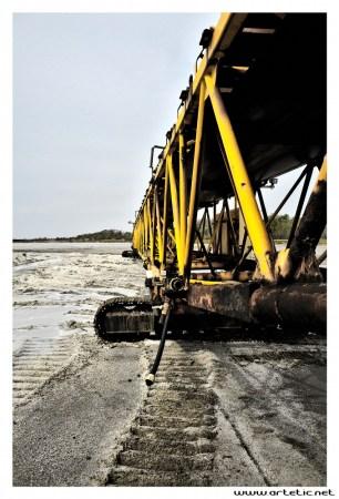 Camargue salt manufacturing