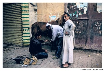 Walk in the streets of Cairo, winter is hard and due to the economic crisis people are struggle to live