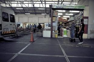 Supermarché d'extérieur
