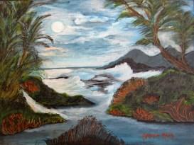Wind (Acrylic on canvas, 30x40cm.)