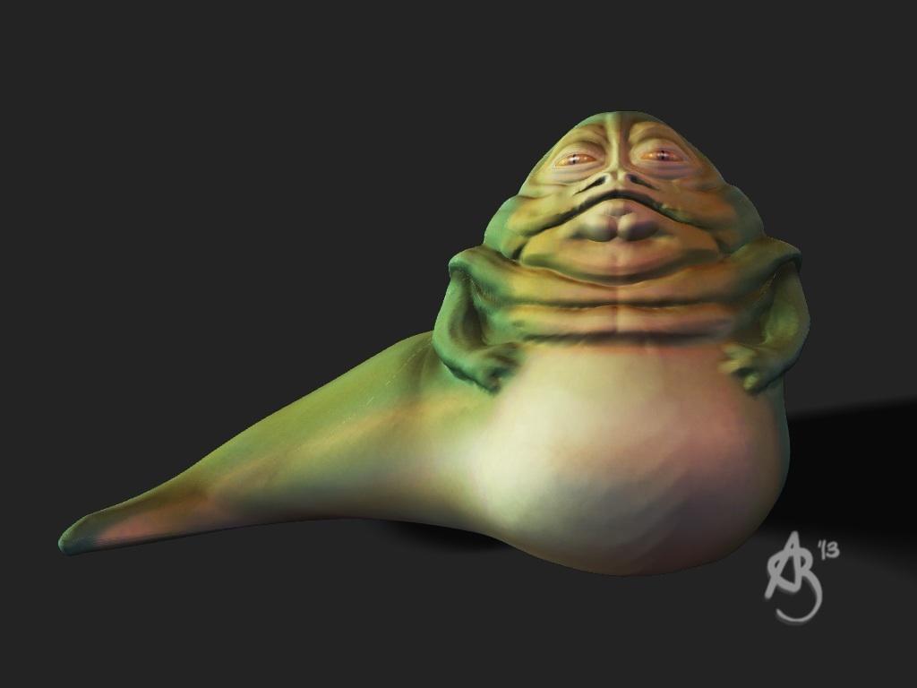 Jabba The Hutt Art Of Adam Beamish