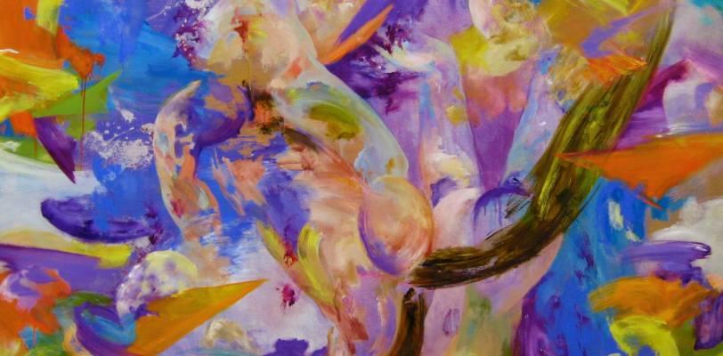 Violet Battlefield by Tijana Titin