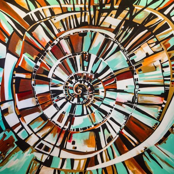 Escala al interior by Felix Murillo