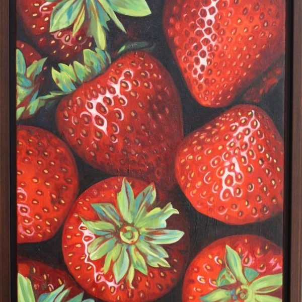 Strawberries XII by Hannah Bruce