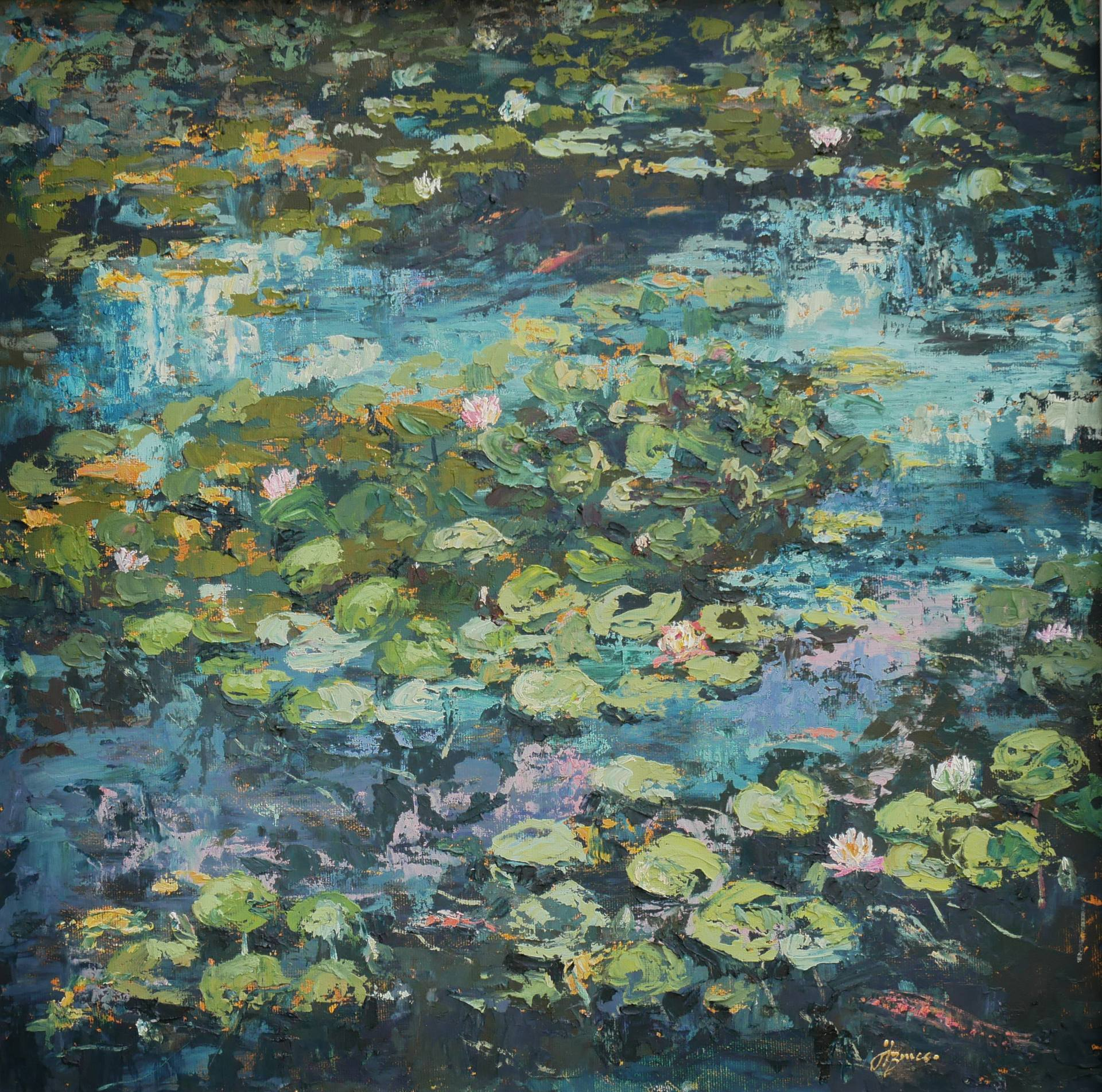Wexford Wells Water Lilies