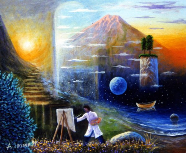 Surreal Spiritual Art Visionary