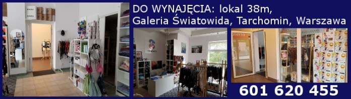 Lokal do wynajęcia, Galeria Światowida, Tarchomin, Warszawa