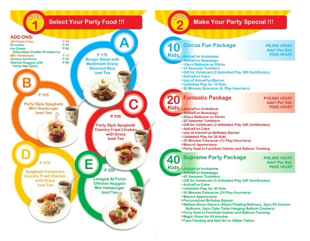 Party Package Fairview2 rs