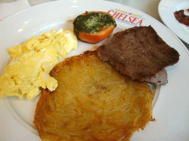 grand-cafe-chelsea-minute steak hashbrowns eggs