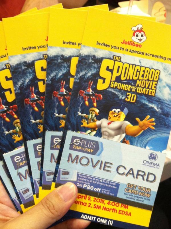 the spongebob movie spongebob out of water jollibee block screening art of being a mom www.artofbeingamom.com 01
