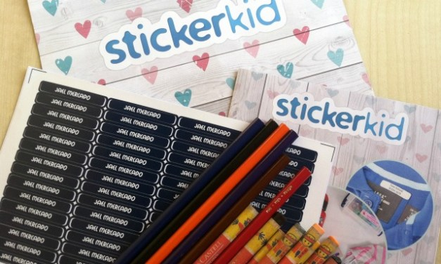 StickerKid Personalized Name Labels