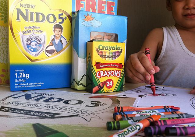 nido 5+ milk nestle laking amazing crayola bundle lifestyle mommy blogger www.artofbeingamom.com 04