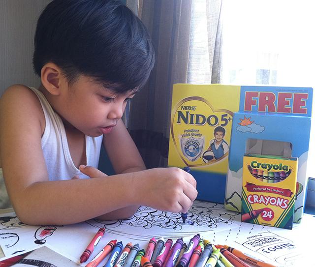 nido 5+ milk nestle laking amazing crayola bundle lifestyle mommy blogger www.artofbeingamom.com 05