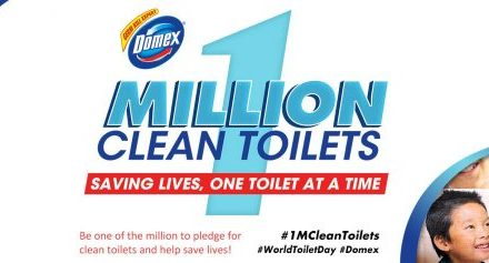 Join the Domex One Million Clean Toilets Movement