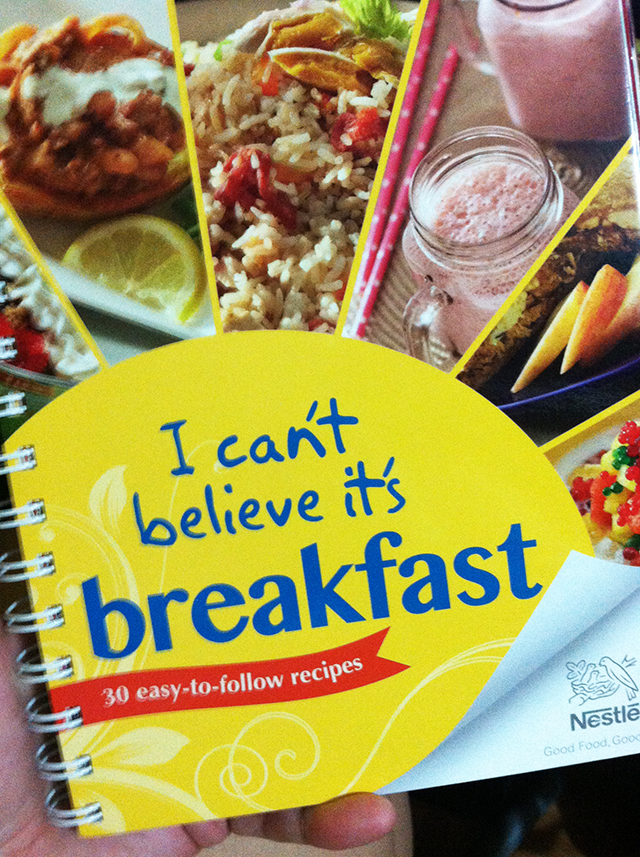 nestle breakfast cookbook breakfast recipes lifestyle mommy blogger www.artofbeingamom.com 05